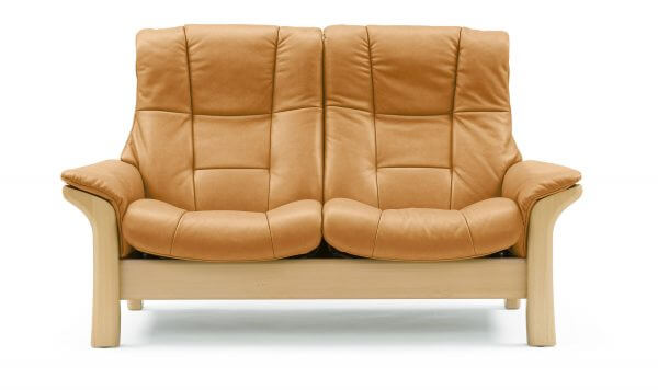 Stressless Buckingham (L) High Back Loveseat