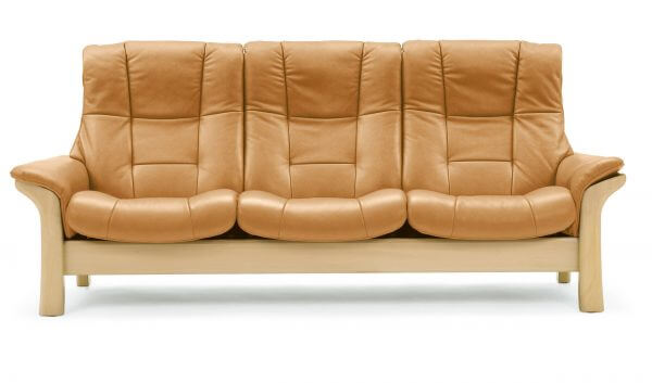 Stressless Buckingham (L) High Back Sofa