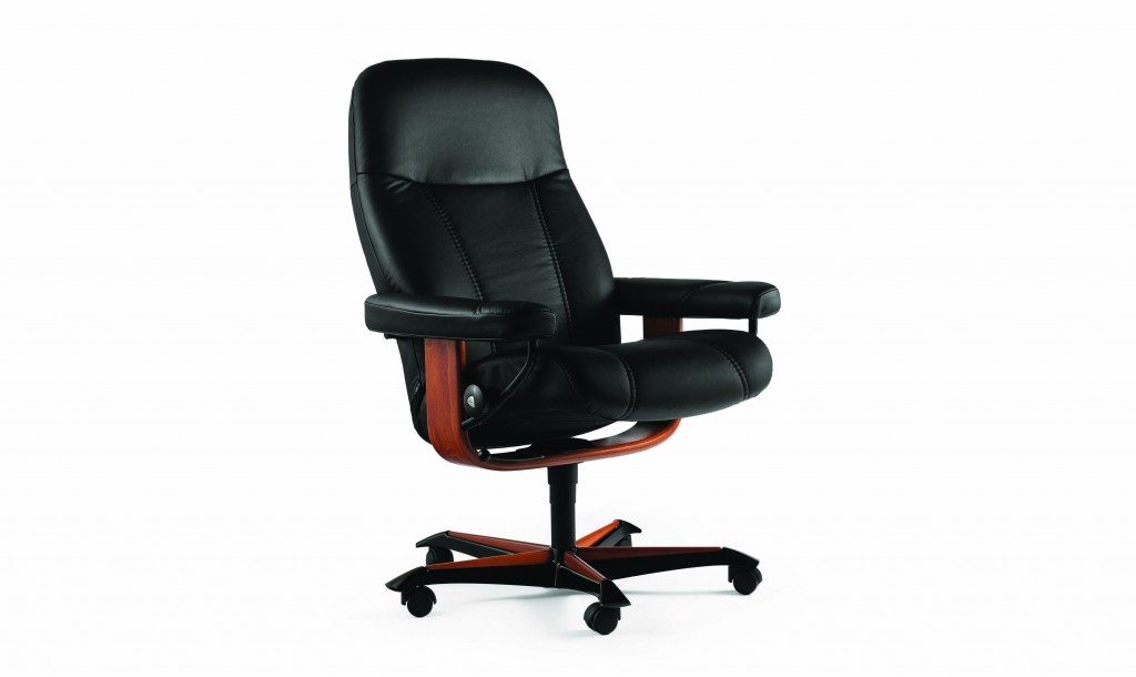 stressless consul m office chair hansen interiors. Black Bedroom Furniture Sets. Home Design Ideas