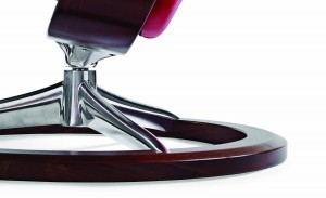 Ekornes Stressless View Recliner base Close up Hansen Interiors