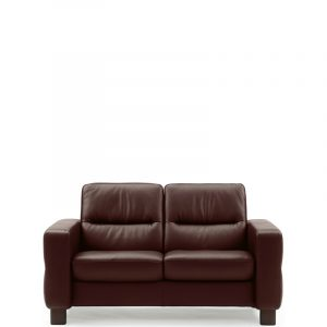 Ekornes Stressless Wave Low Back Loveseat