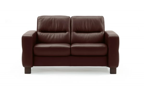 Stressless Wave (M) Low Back Loveseat