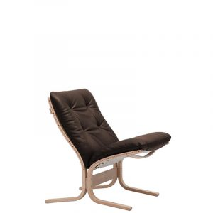 Siesta Chair Low Back Dark Brown