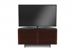 BDI Corridor 8175 Corner TV Cabinet chocolate stained walnut 01 Hansen Interiors