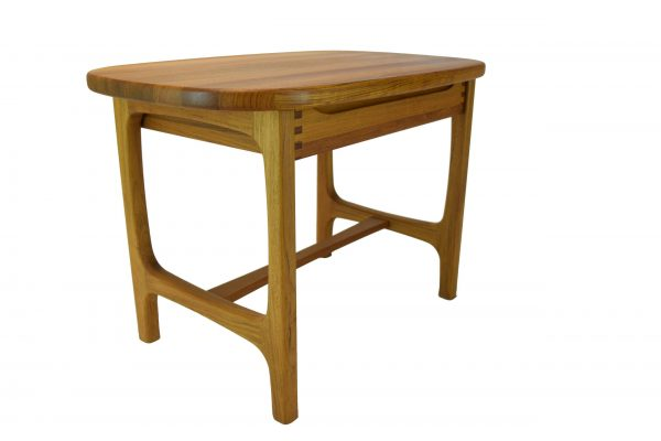 Scandinavia Teak Lamp Table With Drawer
