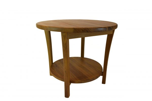 Scandinavia Teak Round Lamp Table
