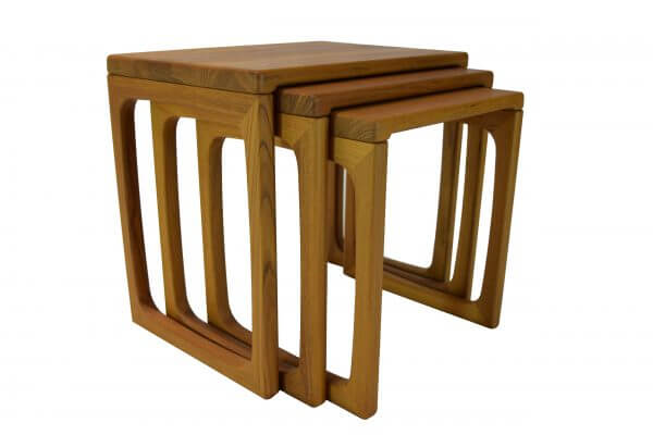Scandinavia Teak Nest Of Tables