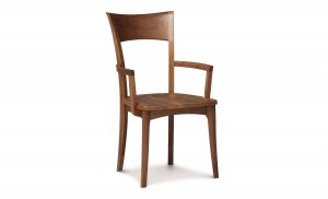 Ingrid Arm Chair Wood Seat