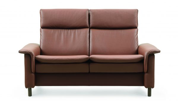 Stressless Aurora High Back Loveseat