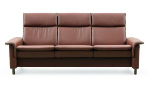 Ekornes Stressless Aurora High Back Sofa Hansen Interiors