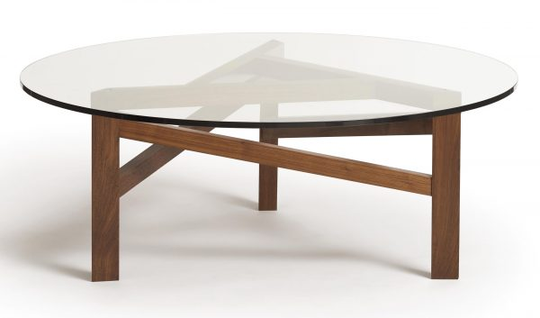 Glide Planes Round Coffee Table