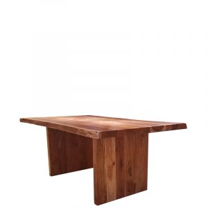 COL Live Edge Dining Table Acacia