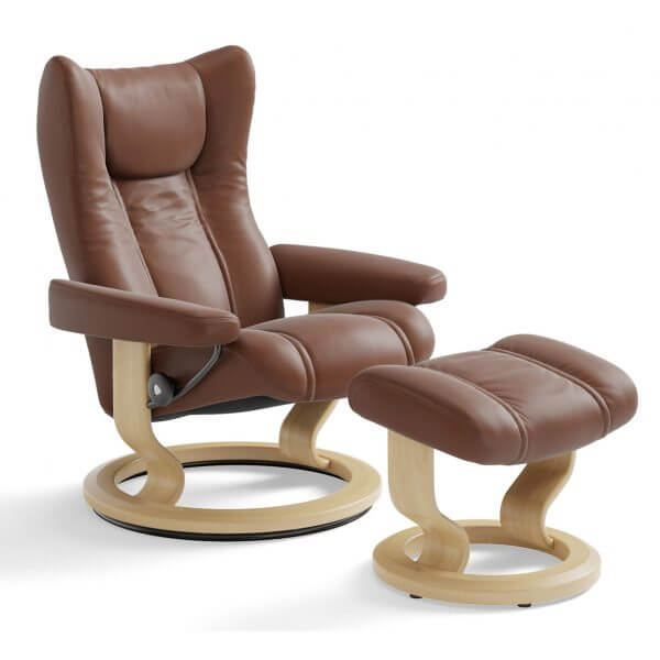 Stressless Wing Recliner Classic