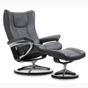 Stressless Wing Signature Grey