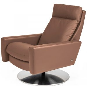 American Leather Comfort Air Cumulus Bronze