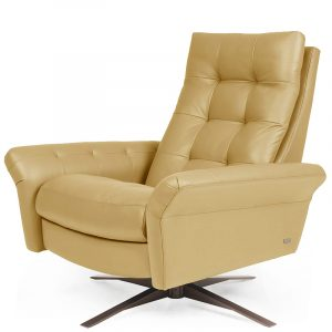 American Leather Comfort Air Pileus Goldeneye