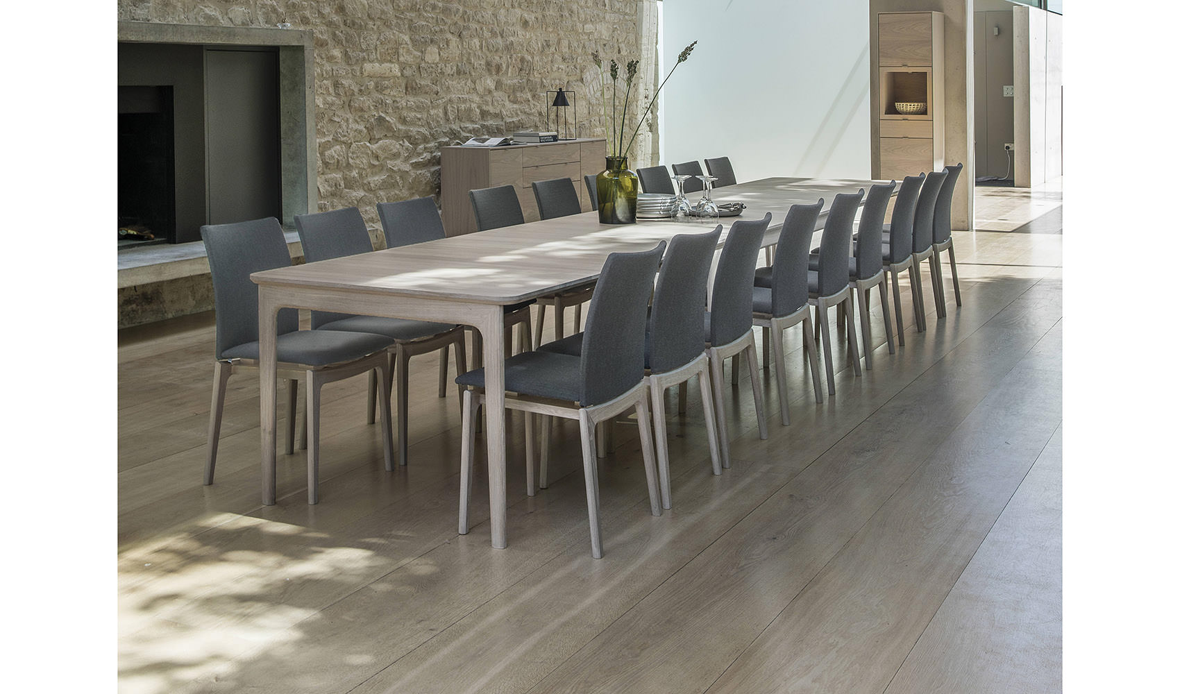 Skovby SM27 SM63 Dining Table and Chairs