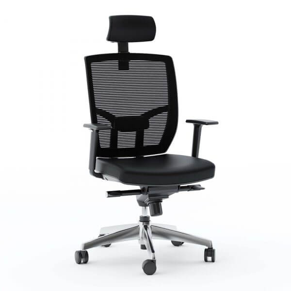 TC-223 Office Chair with Chrome base