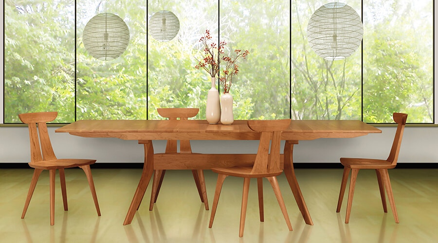 Copeland Audrey Estelle Table Chairs Cherry Solid