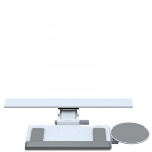 Humanscale Keyboard System With Mousepad White