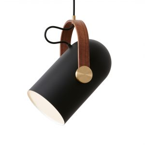 Carronade Medium Pendant Black