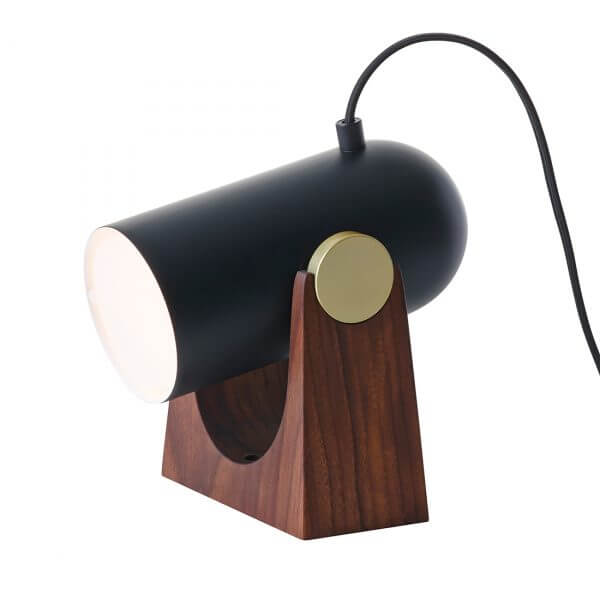 Le Klint 260 Carronade Table/Wall Lamp Black