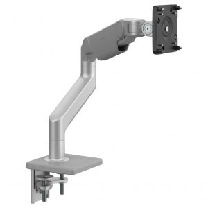 Humanscale M8.1 Monitor Arm Silver Gray Trim Front