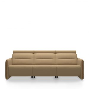 Emily Three Seat Sofa Teak Arm Paloma Sand 01