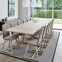 Skovby SM 106 Table White Oil Oak