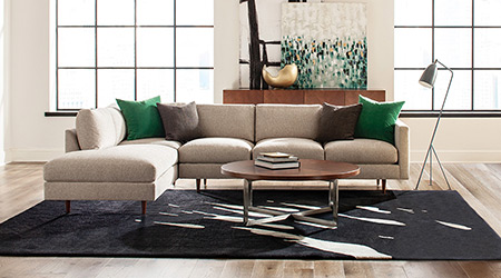 Thayer Coggin Milo Baughman Sofa Sectional
