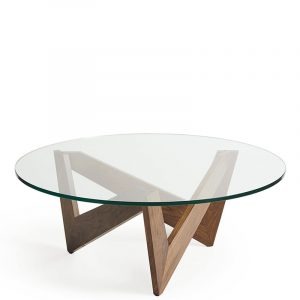 Copeland Check Round Coffee Table
