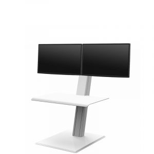 Humanscale Quick Stand Dual Monitor White