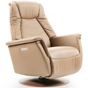 Ekornes Stressless Max Power Recliner Sand