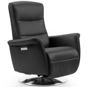 Ekornes Stressless Mike Power Recliner Black