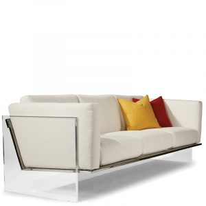 Thayer Coggin Get Smart Sofa White