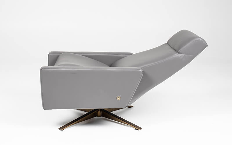 American Leather Comfort Air Cloud Side Profile