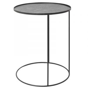 Ethnicraft 20704 Round Tray Side Table Small
