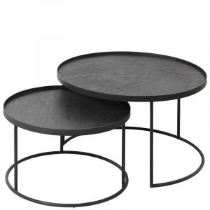 Ethnicraft 20726 Coffee Table Set S L