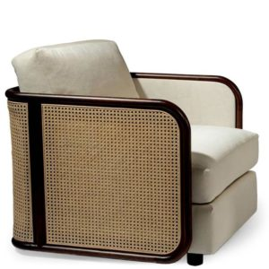 Thayer Coggin Reed Lounge Chair