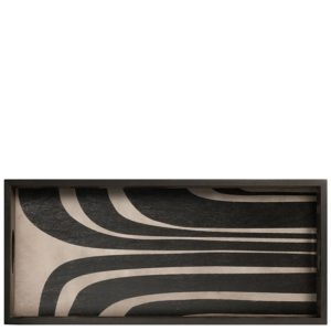 Ethnicraft 20939 Graphite Curves Tray